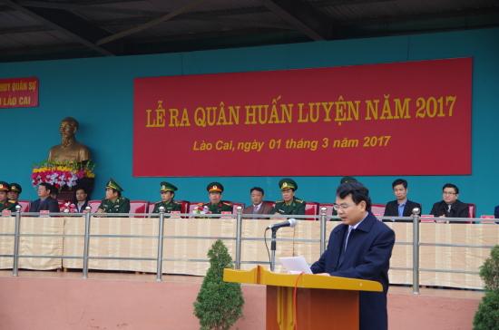 dong-chi-dang-xuan-phong-chu-tich-ubnd-tinh-lao-cai-phat-bieu-tai-buoi-le-ra-quan-huan-luyen