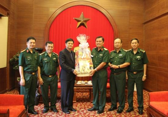 Thiếu Tướng Nguyễn Văn Nam Thăm Chuc Tết Bộ Tư Lệnh Quan Khu 7