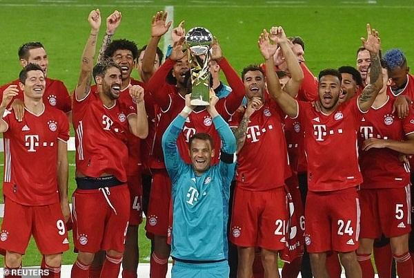 Bayern Munich đoạt siêu cúp Đức, Man United và Man City vào tứ kết Carabao Cup