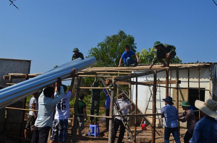 Nâng cao hiệu quảcủa công tác phối hợp giữa BĐBPvà Hội Nông dân tỉnh Tiền Giang