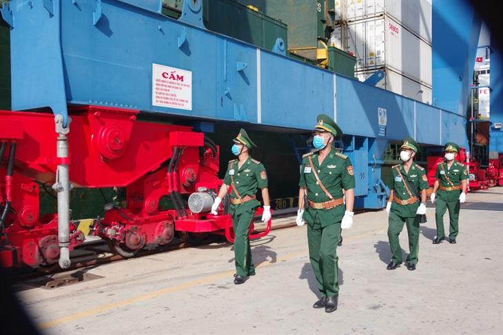 BĐBP kiểm soát chặt chẽ khu vực cửa khẩu, cảng biển phòng, chống dịch Covid-19