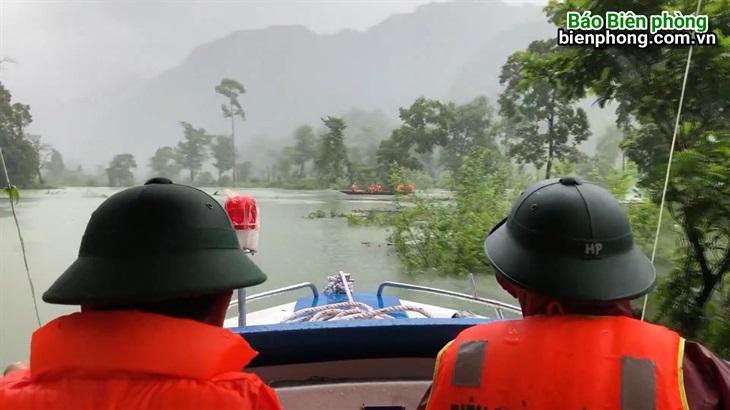 BĐBP Quảng Bình sẵn sàng ứng phó với mưa lũ trong mọi tình huống