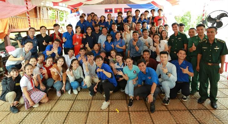 Tuổi trẻ Việt - Lào - Campuchia chung tay vun đắp tình hữu nghị