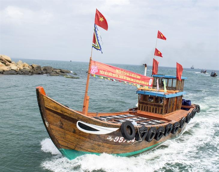 Quảng Ngãi: Khu vực biên giới biển nằm trong mũi nhọn phát triển