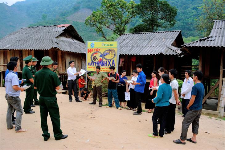 Phát huy sức mạnh tổng hợp trong thực hiện các đề án bảo vệ biên giới