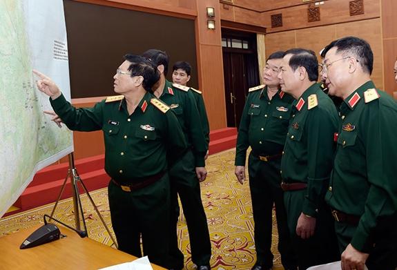 Bộ Quốc phòng triển khai các biện pháp cấp bách tìm kiếm, cứu nạn