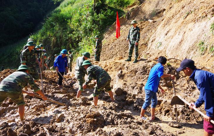 Luật Biên phòng Việt Nam được ban hànhcủng cố thêm hệ thống pháp lý bảo vệ vững chắcbiên cương của Tổ quốc