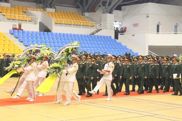 Tổ chức trọng thể Lễ truy điệu 22 cán bộ, chiến sĩ Đoàn Kinh tế - Quốc phòng 337