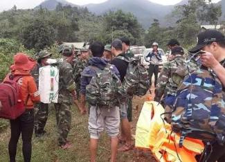 Bộ Quốc phòng điều động trực thăng giải cứu 2 bệnh nhân rời xã Hướng Việt
