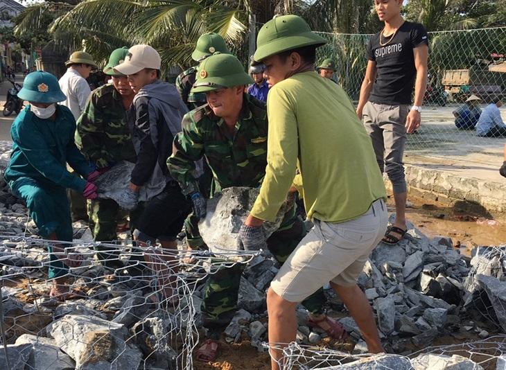 BĐBP Quảng Bình triển khai các biện pháp ứng phó với bão số 8