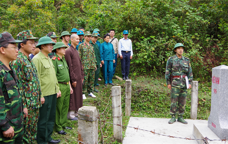 BĐBP hoàn thành tốt nhiệm vụ chủ trì duy trìan ninh trật tự ở khu vực biên giới, cửa khẩu(bài 2)