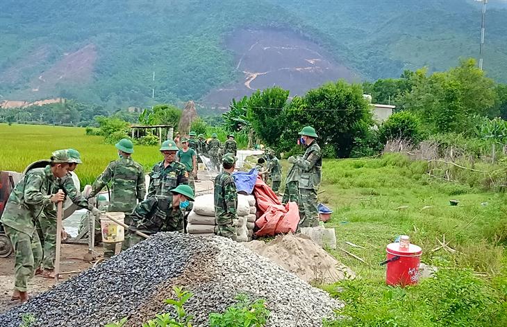 Thực tiễn về vai trò của BĐBPtrong chủ trì giữ gìn an ninh, trật tựở khu vực biên giới, cửa khẩu