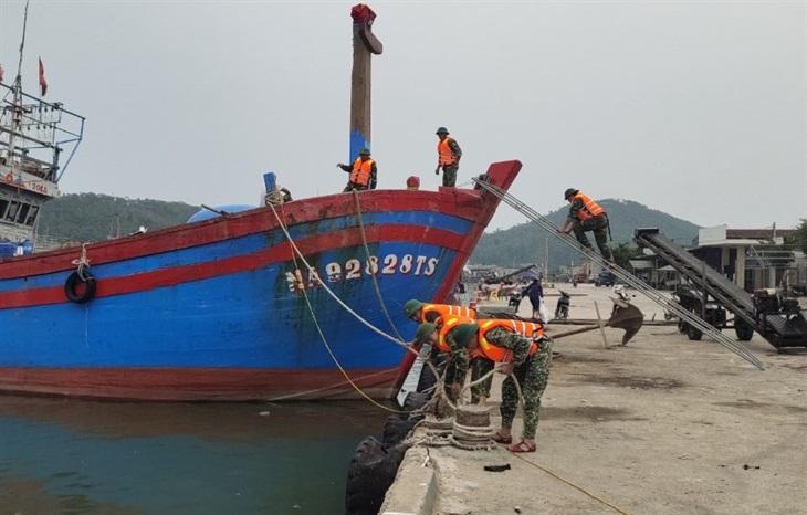 BĐBP Nghệ An chủ động ứng phó với bão số 8