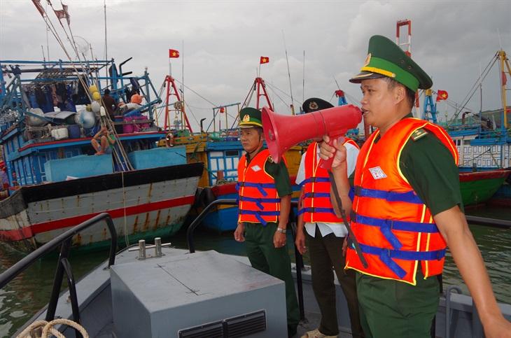 BĐBP Bình Định chủ động ứng phó bão số 9
