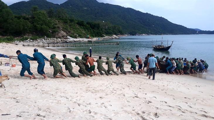 BĐBP Quảng Nam chủ động, tích cực trong công tác phòng, chống bão