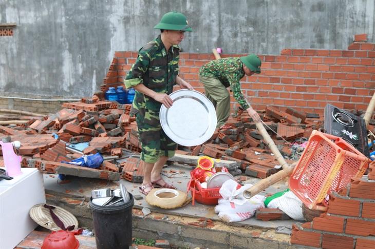 Bão số 9 suy yếu thành áp thấp, nhiều địa phương đối diện với nguy cơ ngập lụt, sạt lở đất