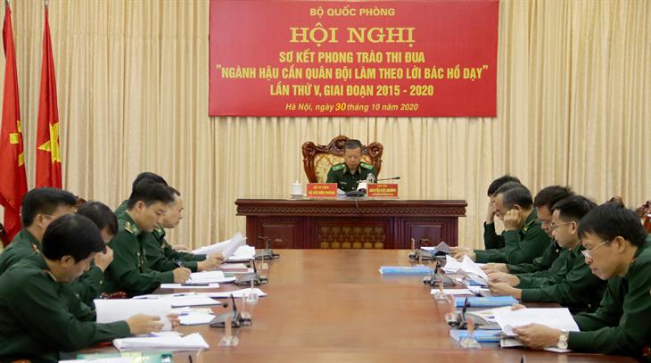 Sơ kết Phong trào thi đua Ngành Hậu cần Quân đội làm theo lời Bác Hồ dạy giai đoạn 2015-2020