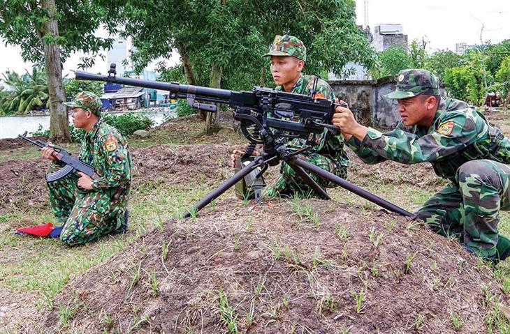 Bàn về nhiệm vụ Sẵn sàng chiến đấu, chiến đấuchống xung đột vũ trang, chiến tranh xâm lược ở khu vực biên giới