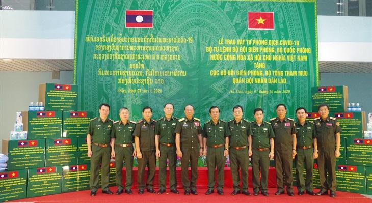 Tăng cường công tác phối hợp giữa lực lượng bảo vệ biên giới Việt Nam và Lào