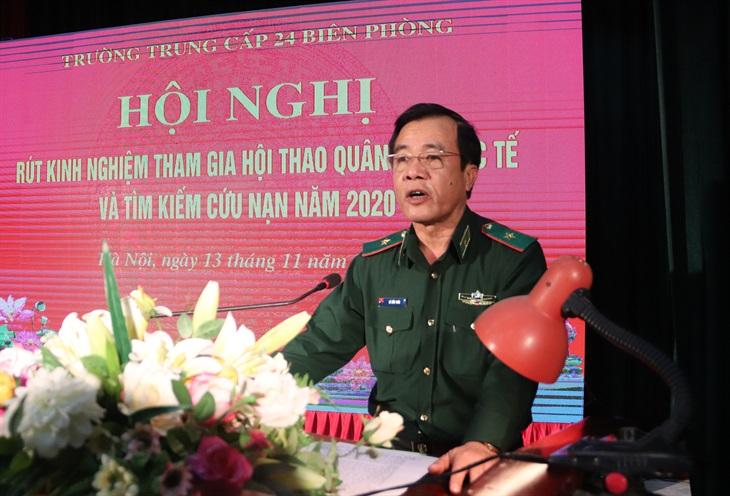 Hội nghị rút kinh nghiệm tham gia Hội thao Quân sự quốc tế và tìm kiếm cứu nạn năm 2020