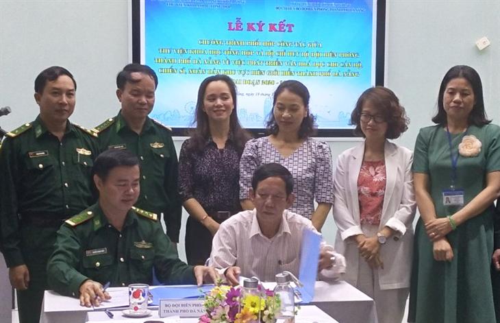 Phối hợp phát triển văn hóa đọc cho chiến sĩ và nhân dânkhu vực biên giới biển Đà Nẵng