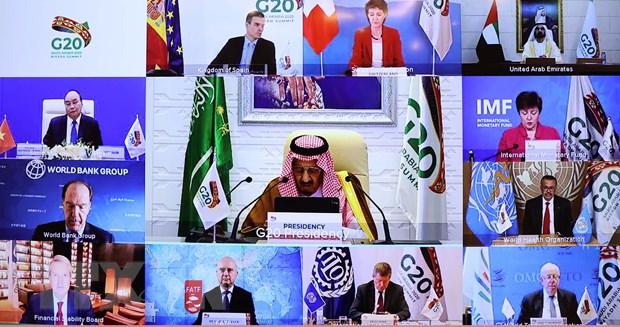 G20 bàn giải pháp sử dụng mọi nguồn lực để ngăn chặn đại dịch Covid-19