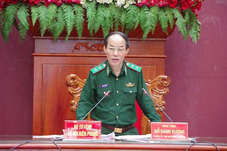 Tập trung xây dựng Nghị quyết lãnh đạo nhiệm vụ công tác biên phòng, xây dựng Đảng trong BĐBP