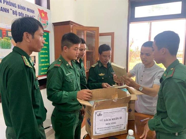Chung tay cùng Tiếp sức biên cương ở Quảng Nam