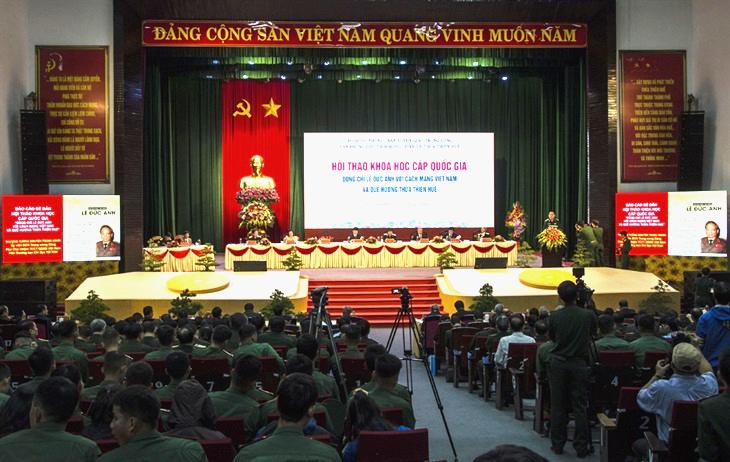 Hội thảo khoa học cấp quốc gia: Đồng chí Lê Đức Anh với cách mạng Việt Nam và quê hương Thừa Thiên Huế