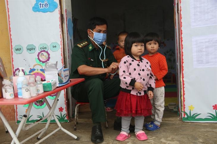 Nhiều hoạt động ý nghĩa hướng về trẻ em ở khu vực biên giới