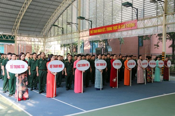 Khai mạc Tuần Văn hóa - Thể thao cơ quan Bộ Tư lệnh BĐBP