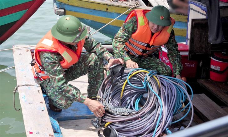 Đẩy lùi hoạt độngkhai thác hải sản trái phép