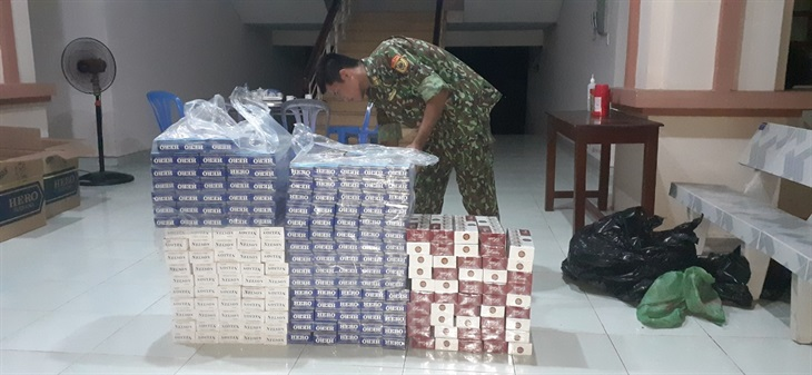 An Giang: Liên tiếp bắt giữ thuốc lá nhập lậu trong đêm