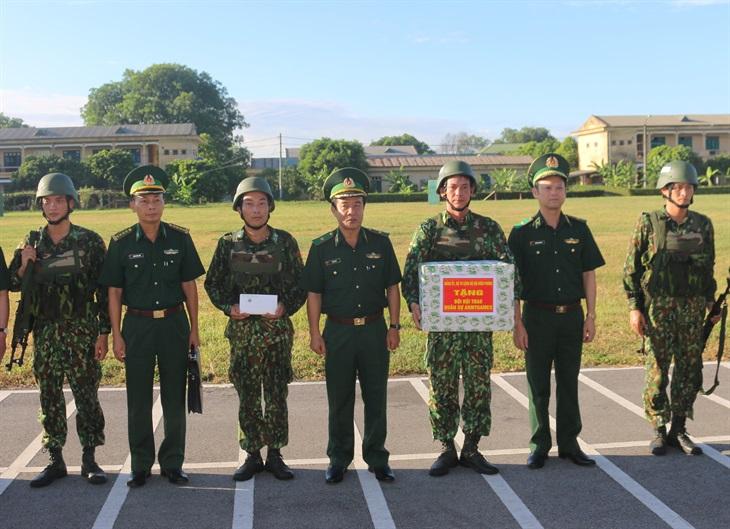 Kiểm tra công tác huấn luyện Đội tuyển chó nghiệp vụ tham gia Army Games 2020