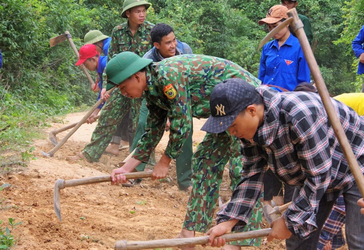Nhiều hoạt động tình nguyện hè thiết thực