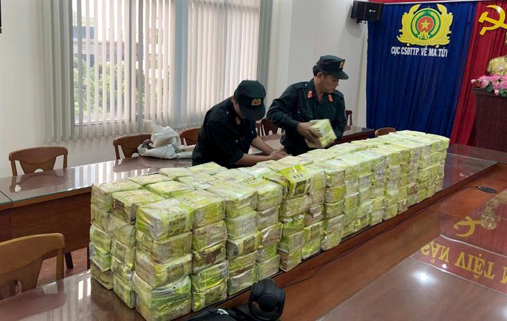 Khẳng định vai trò chủ côngtrên mặt trận đấu tranh với tội phạmma túy ở khu vực biên giới
