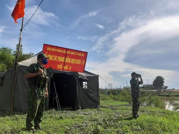 Kiểm soát chặt các cửa khẩu, tuyến biên giớiđể phòng, chống dịch Covid-19
