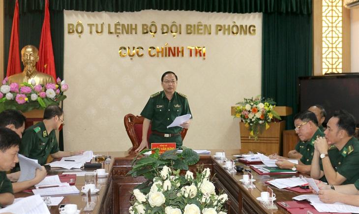 Đảng ủy Cục Chính trị BĐBP tổ chức hội nghị phiên 6 tháng đầu năm 2020