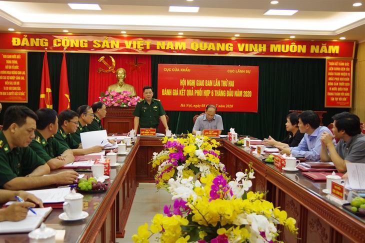 Cục Lãnh sự và Cục Cửa khẩu BĐBP nâng cao hiệu quả công tác phối hợp