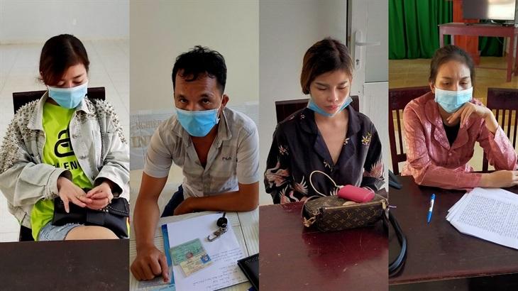 3 phụ nữ nhập cảnh trái phép từ Campuchia thuê xe du lịch trốn phải cách ly