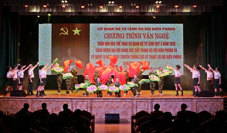 Nhiều công trình, chương trình ý nghĩa chào mừng Đại hội đại biểu Đảng bộ BĐBP lần thứ XV