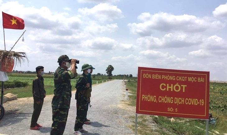 BĐBP tăng cường phòng, chống dịch Covid-19 trên biên giới