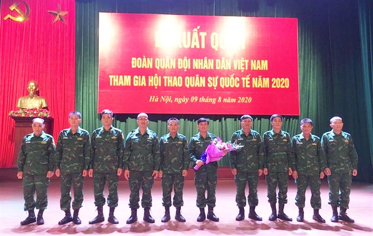 Quyết tâm dành kết quả cao nhất mang vinh quang về cho Quân đội