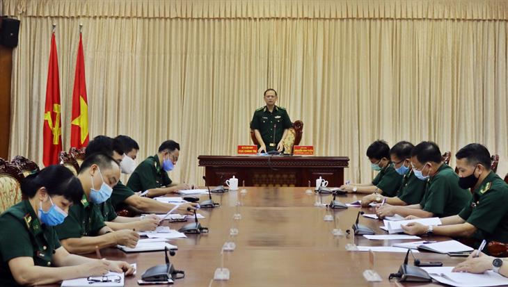 Rút kinh nghiệm công tác tham mưu, tổ chức Đại hội đại biểu Đảng bộ BĐBP lần thứ XV