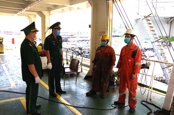 Đảm bảo an toàn khu vực cảng Hải Phòng trong đại dịch Covid-19