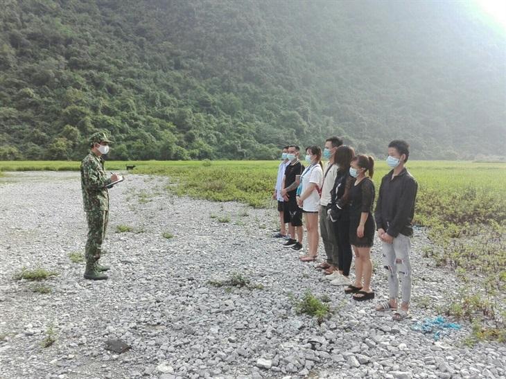 Cao Bằng: Tiếp tục phát hiện 10 công dân nhập cảnh trái phép từ Trung Quốc vào Việt Nam