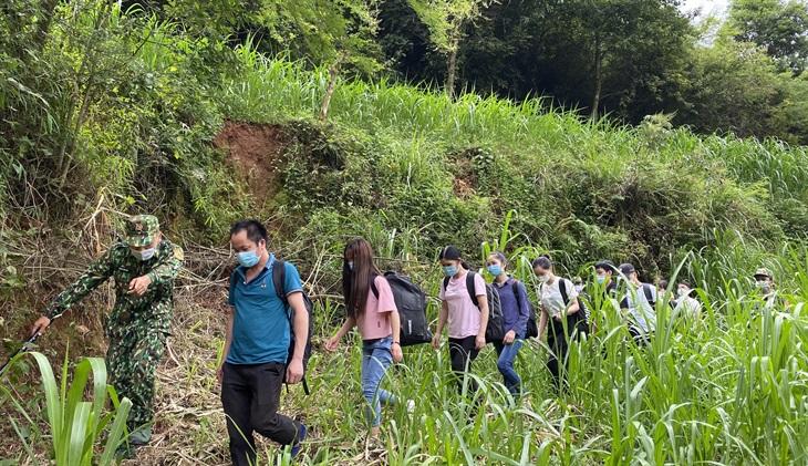 Liêp tiếp ngăn chặn người nhập cảnh trái phép từ Trung Quốc về Việt Nam