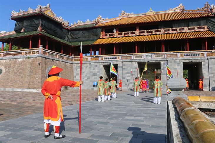 Tích cũ, hồn xưa trong tái dựngnghi lễ kinh thành Huế