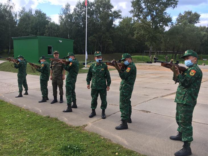 Tích cực tập luyện sẵn sàng chinh phục Army Games - 2020