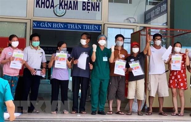 Thêm 10 bệnh nhân mắc COVID-19 ở Đà Nẵng được xuất viện
